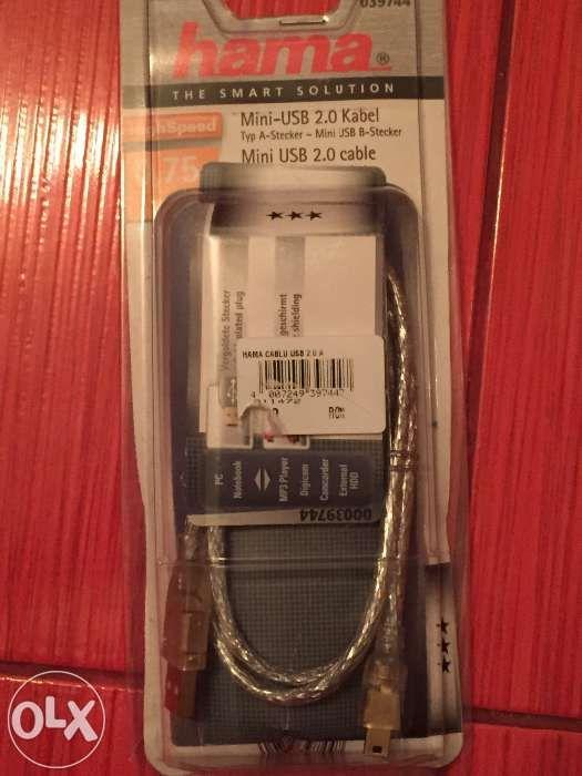 Cablu mini usb Hama