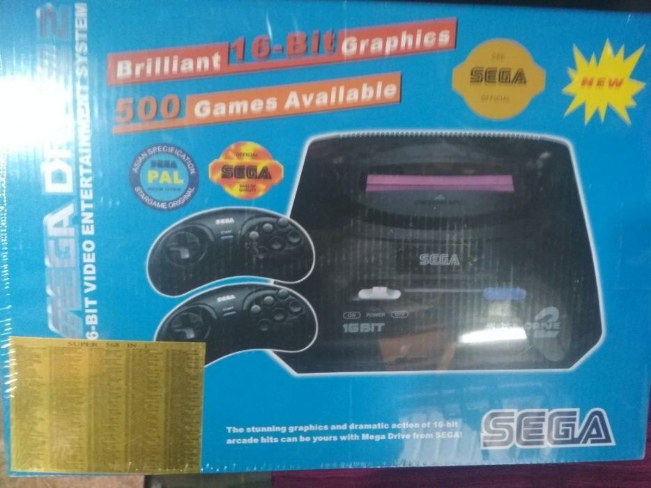 Игровой консуль Sega
