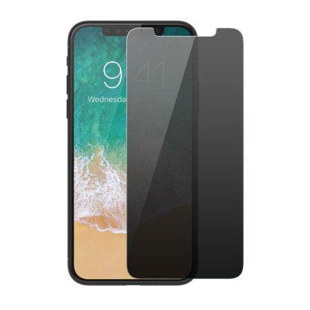 Folie PRIVACY Apple iPhone X/XS, Elegance Luxury duritate 9H