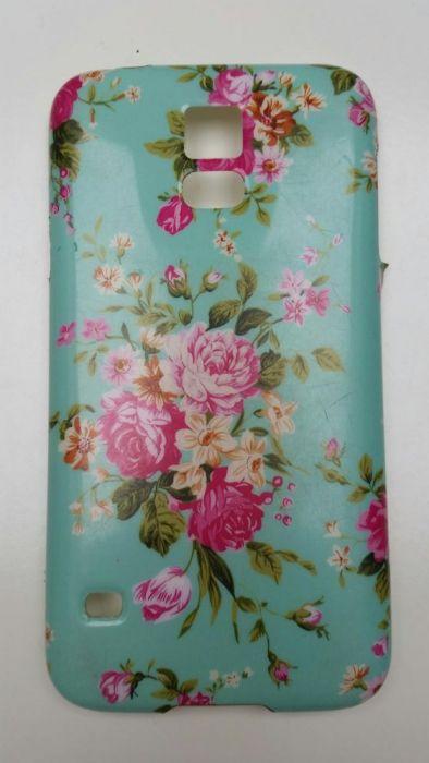 Vand/Schimb Husa Samsung S5, floral