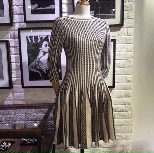 Платье (тёплое, вязанное)