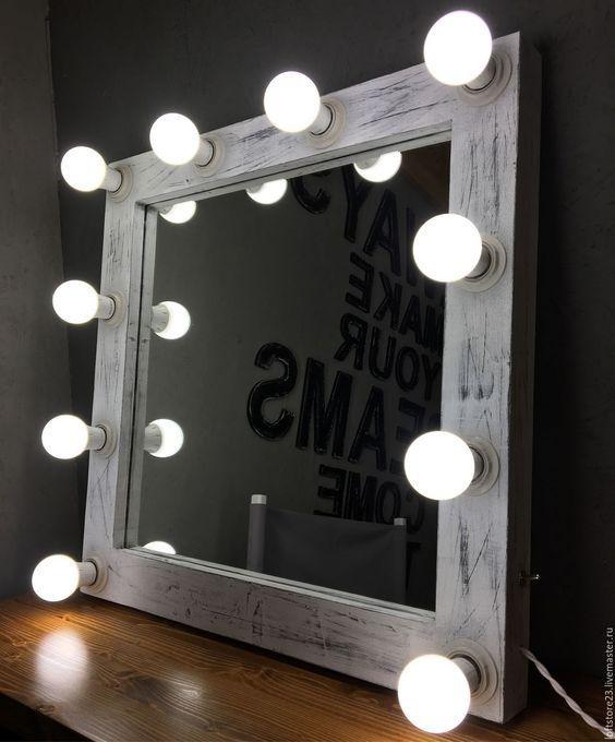 """Огледало с осветление за грим """"Beauty"""""""
