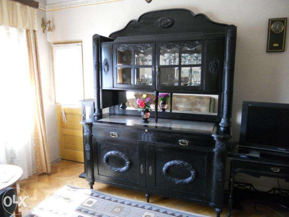 Vand mobila de colectie, din lemn masiv de Trandafir