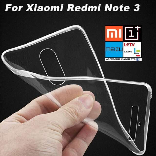 Huse Silicon Slim Xiaomi Redmi Note 2, Redmi Note 3