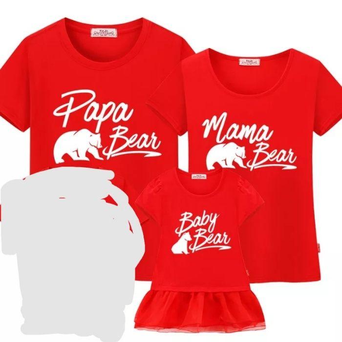 Set tricouri familie mama tata fiica