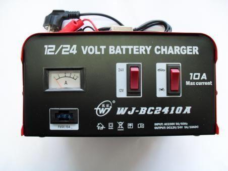 Зарядно за акумолатор 12/24 волта