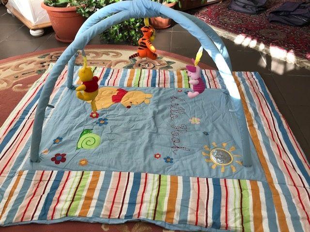 Centru joaca bebe ( saltea, patura )