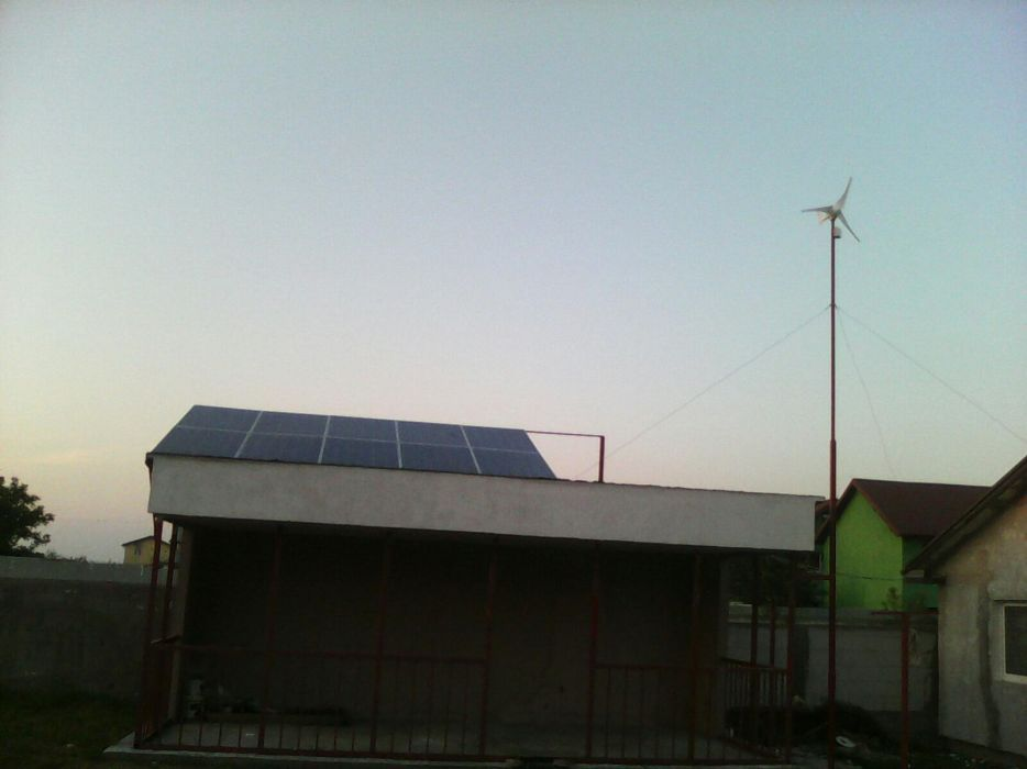 panouri fotovoltaice 230w kituri,baterii