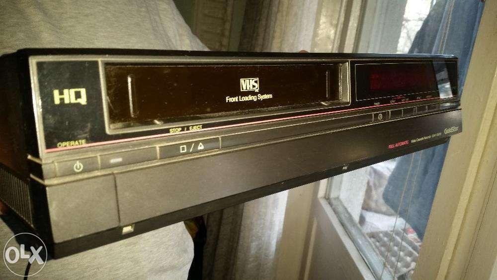 Video cassette recorder GoldStar Model:GHV-1245W