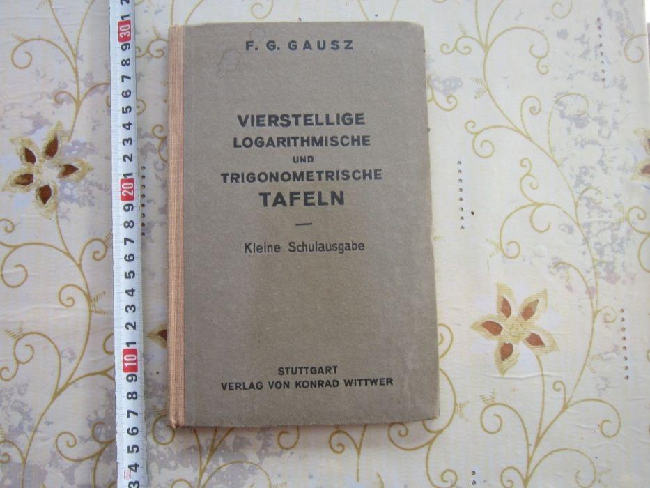 Немска книга тригонометрия Трети Райх 1941