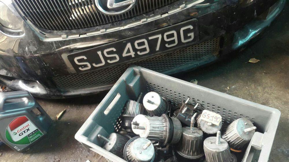 Подушки двигателя Lexus GS300, GS350