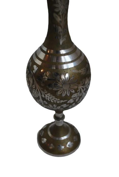 Индийска ваза месинг