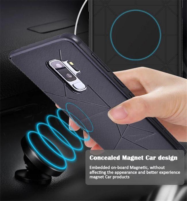 Huse cu magnet auto Samsung Galaxy S8 / S8 Plus / S9 / S9 Plus