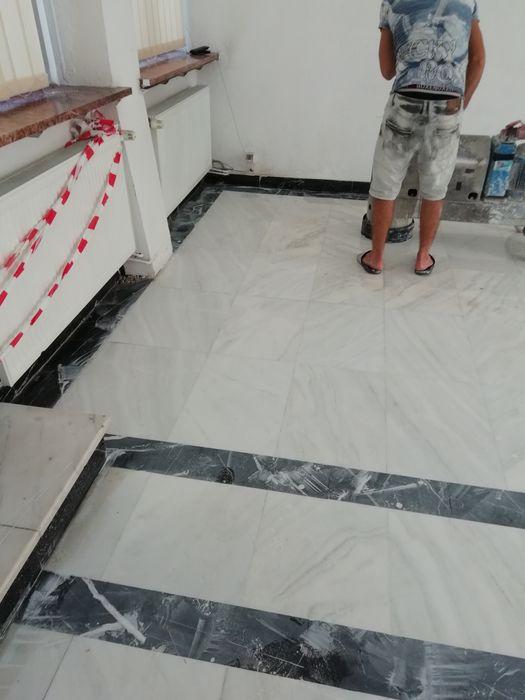 Șlefuit și lustruit marmura Mozaic granit și travertin
