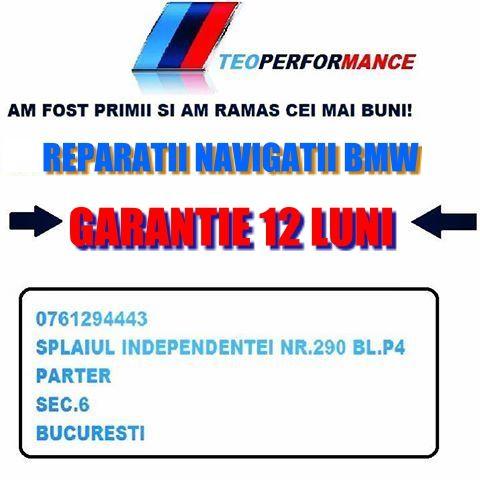 Reparam navigatii BMW: ccc cic nbt ask bm54 frm3