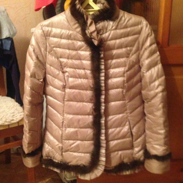 Продаются зимний пуховик, куртка