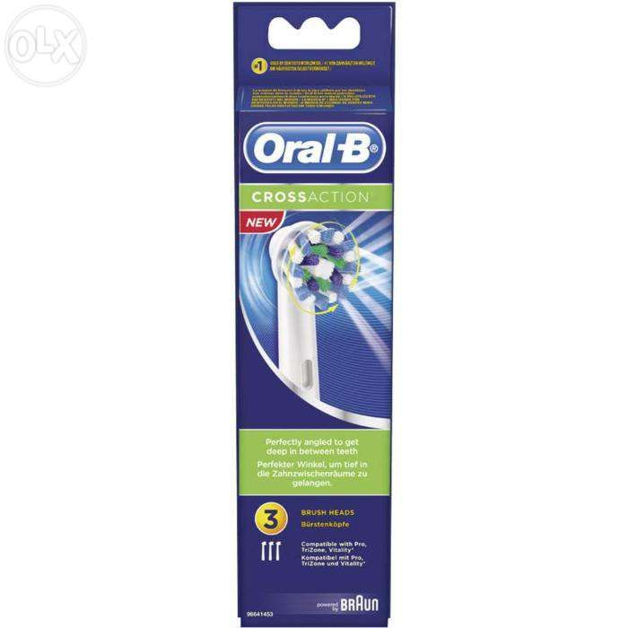 Set 3 buc. (capete) rezerve periute de dinti Oral-B CrossAction EB50-3