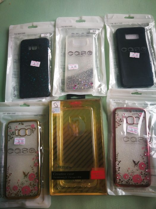 husa silicon ptr Samsung S8/ S8 Plus / S9 / S9 Plus culori variate