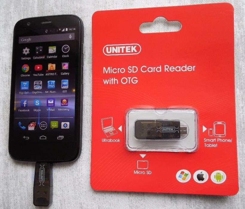 Card Reader Micro SD Unitek cu OTG