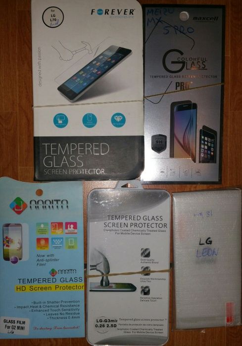 Folie sticla/Tempered glass LG G3 mini,L70,Leon si Meizu MX5 Pro