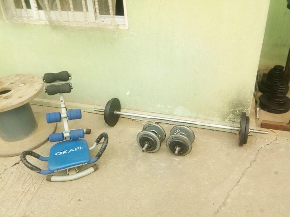 Conjunto de equipamentos