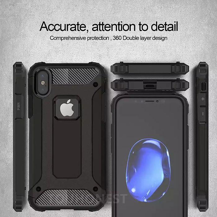 Удароустойчив Кейс Spigen за Apple iPhone X / XS / XR / iPhone XS Max