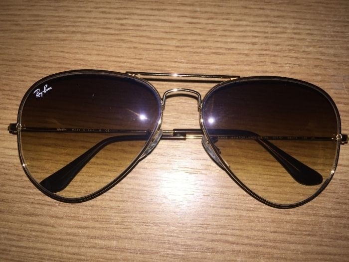 Ochelari de soare unisex Ray-Ban Aviator Gradient RB3025 001/51