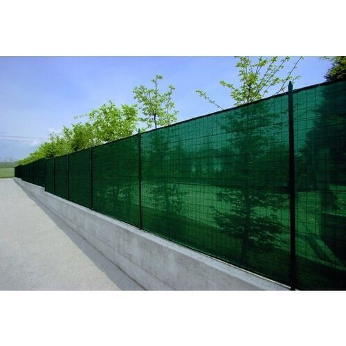 Plasa verde pentru gard antivant 1,5 x 25 m grad de umbrire 90%