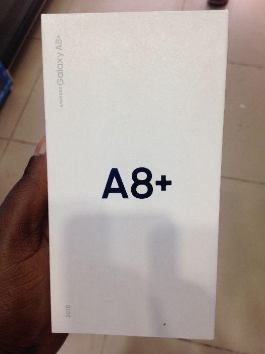 Galaxy A8+plus novo selado na caixa com 64 gb Bairro Central - imagem 2