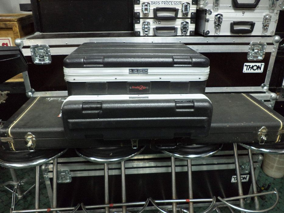Rack, case Gator Studio-2-Go pentru laptop/mixer+ statie 2U