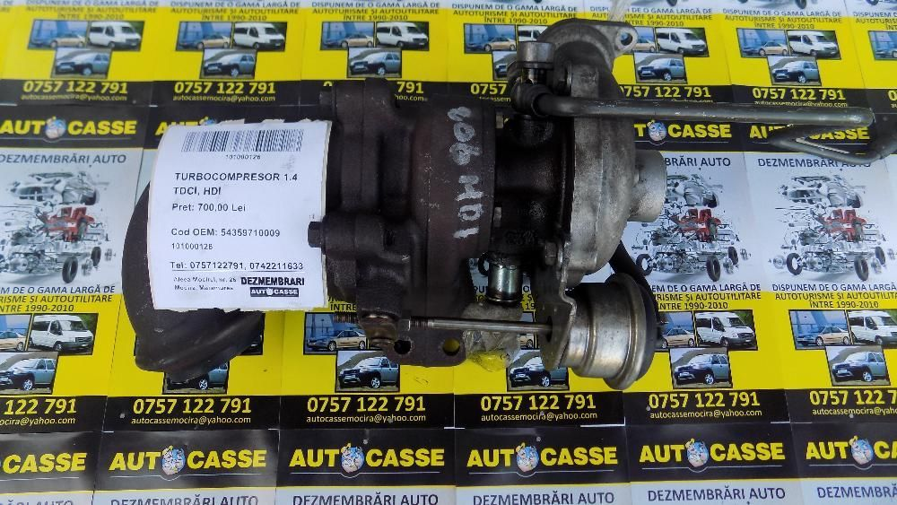 Turbina Citroen C3 1.4 HDI cod 54359710009 !