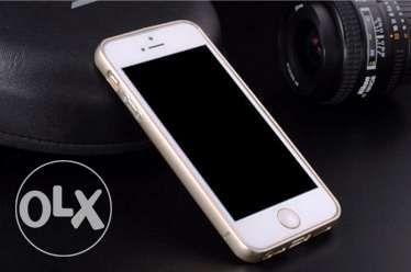 Bumper de aluminiu gold si silver pentru Iphone 5/5s