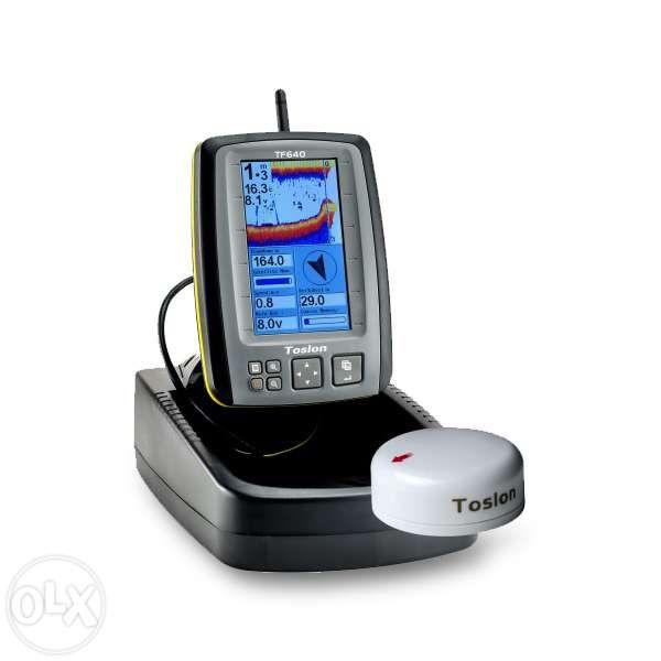 Sonar cu GPS cu memorie si compas TF 640