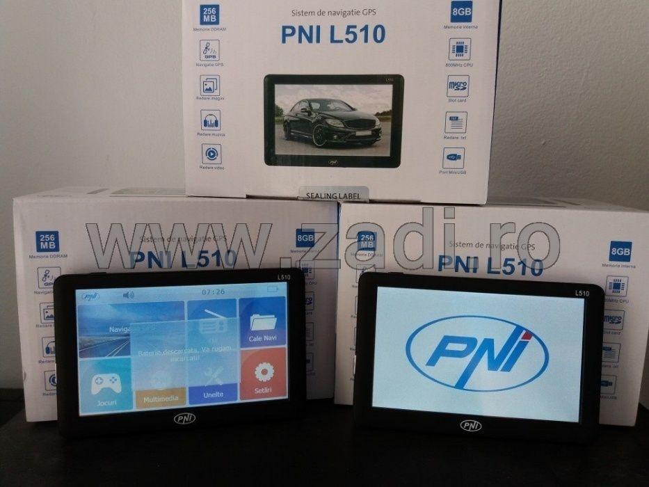 Sistem gps nou- model l510 - harti noi, igo primo-vandut zadi.ro