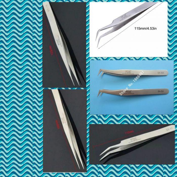 Пинсети за миглопластика Пинсета за мигли Богат избор на Консумативи