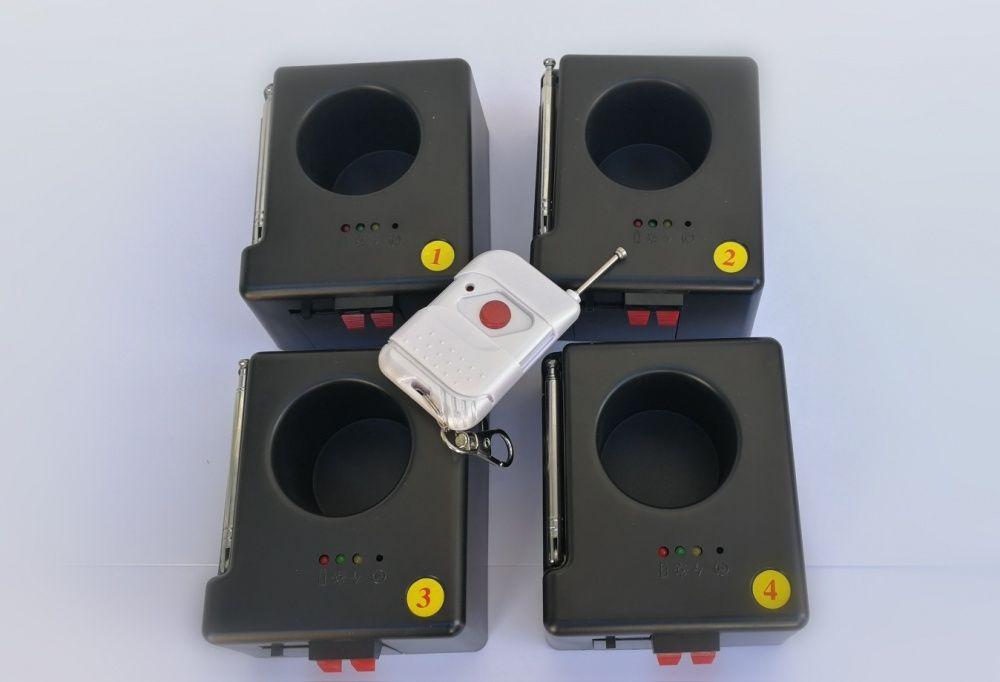 Set Sistem Wireless Profesional Artificii Tip Vulcan
