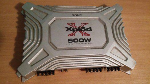 Amplificator(Statie Auto) Sony XM-504Z (Alpine,Pioneer,Blaupunkt