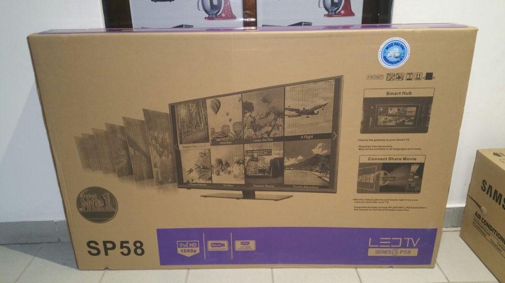 Promoção de tvs Samsung LED FULL HD SMART 58 polegadas novas na caixa