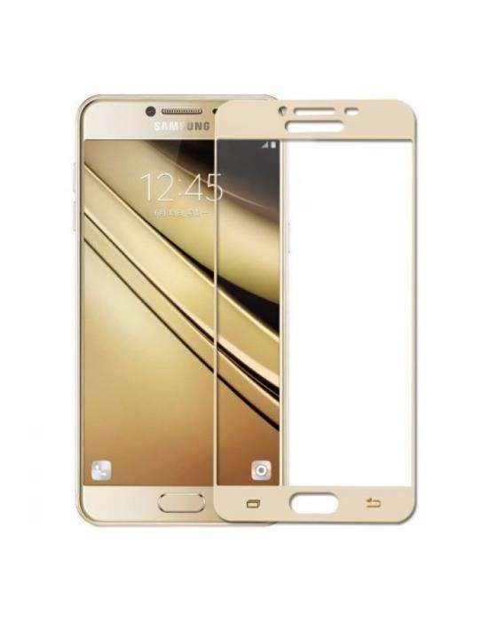 Folie Sticla Full Screen Samsung J3 J5 J7 A3 A5 2017 Montaj Gratuit