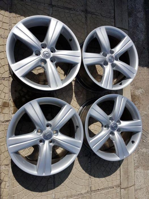 """4бр. оригинални джанти Lexus 18"""" 5x114,3"""