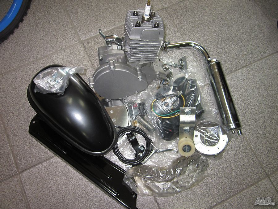 Двигател за велосипед бензинов 80 кубика