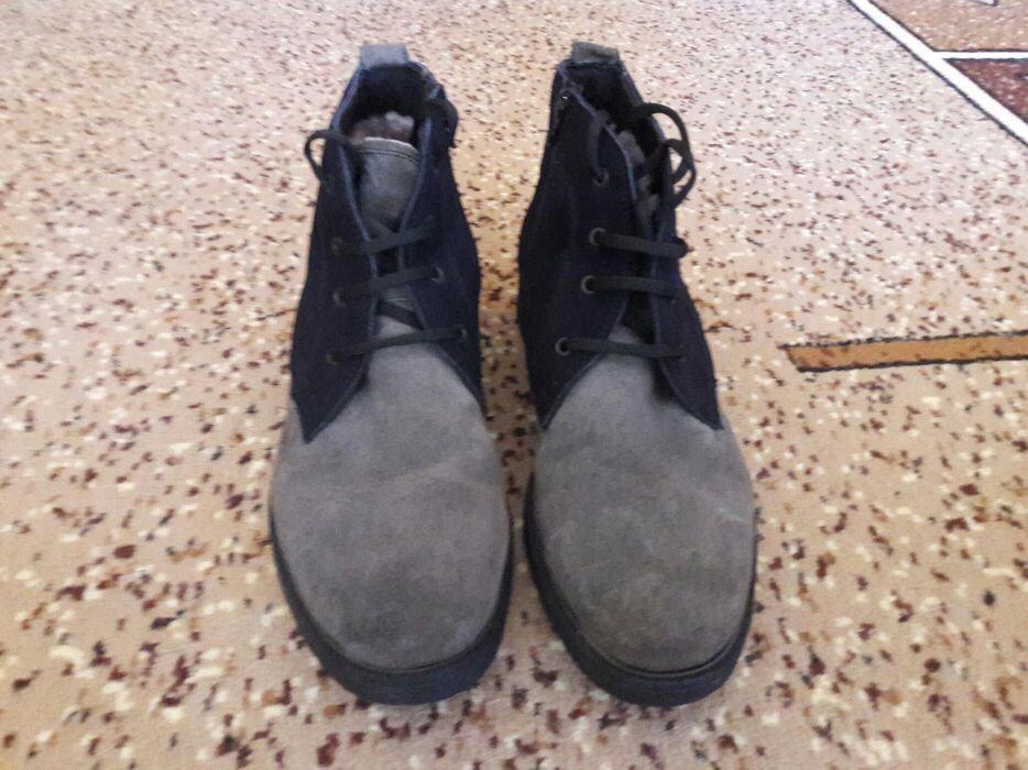 Продам зимние туфли