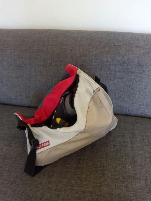 Role marme 33 cu genunchiere casca si geanta