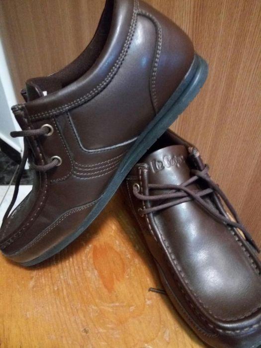 Pantofi piele baieti 39 Europa Lee Cooper
