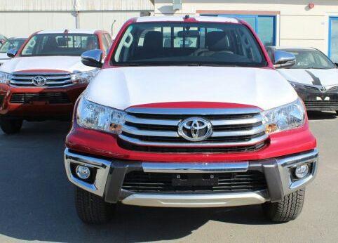 Toyota hi-lux novo modelo