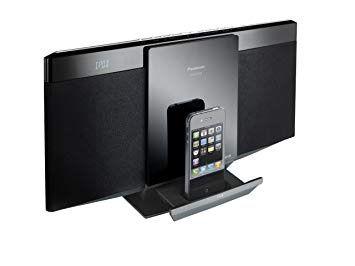 Panasonic sc-hc25db microsistem dock ipod iphone usb mp3 cd +bluetooth