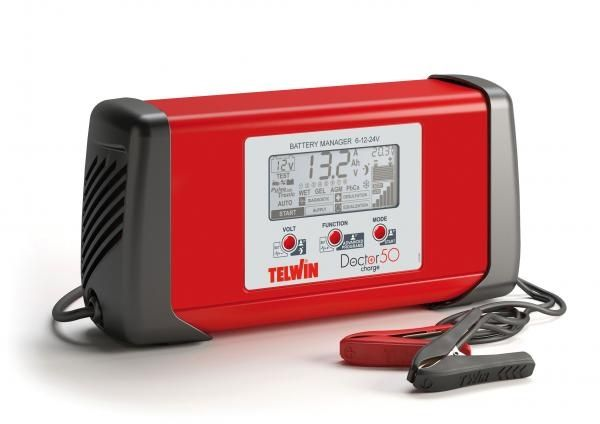 DOCTOR CHARGE 50 - Redresor auto TELWIN