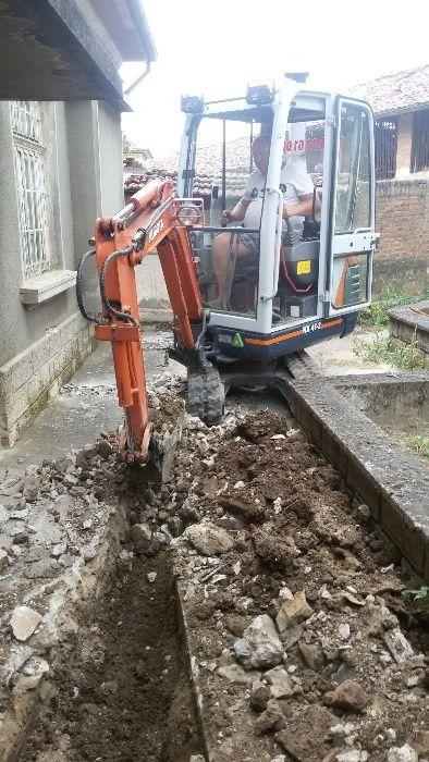 Изкопи с мини багер и транспортни услуги със самосвал до 3,5т гр. Велико Търново - image 12