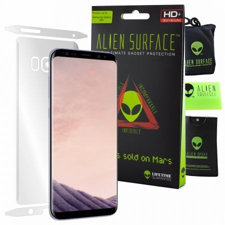 Folie Alien Surface HD, Samsung GALAXY S8 Plus,protectie spate,lateral