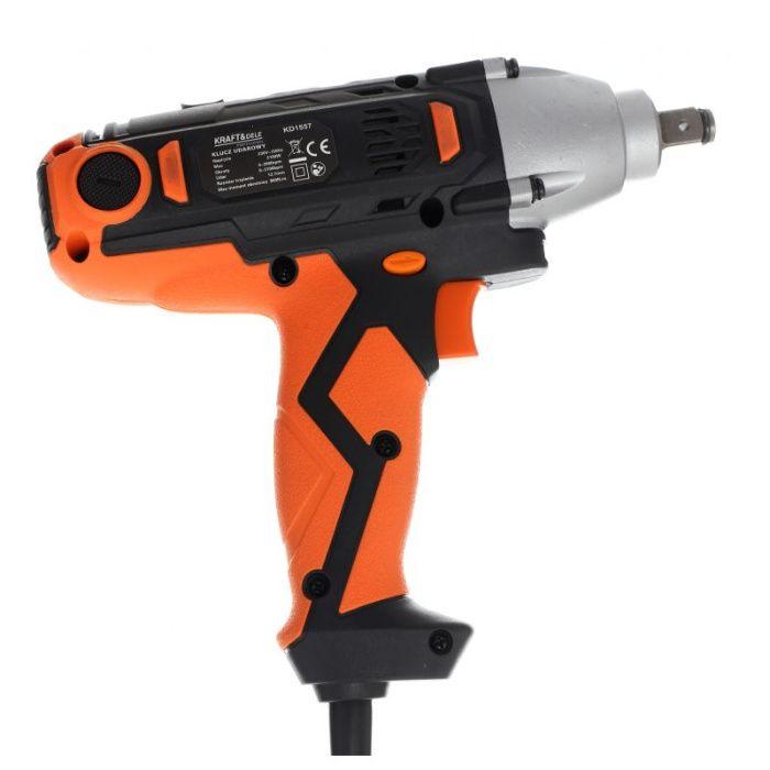 Pistol Impact electric 2100W 220V 800Nm 17,19,21mm KraftDele KD1557 Radauti - imagine 5